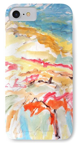 IPhone Case featuring the painting Jubilation by Esther Newman-Cohen