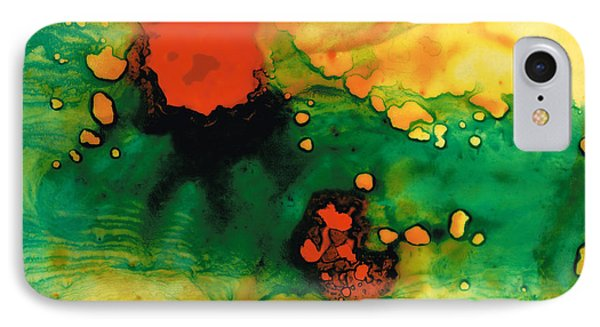 Jubilee - Abstract Art By Sharon Cummings IPhone Case by Sharon Cummings