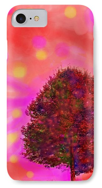 IPhone Case featuring the digital art Jubilee Of Fall by Mary Armstrong