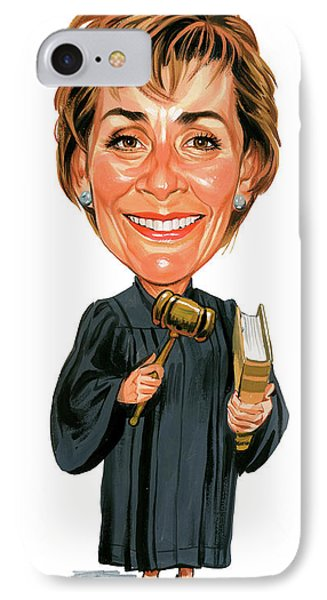 Judith Sheindlin As Judge Judy IPhone Case