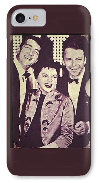 Judy Garland And Friends IPhone Case by Jay Milo