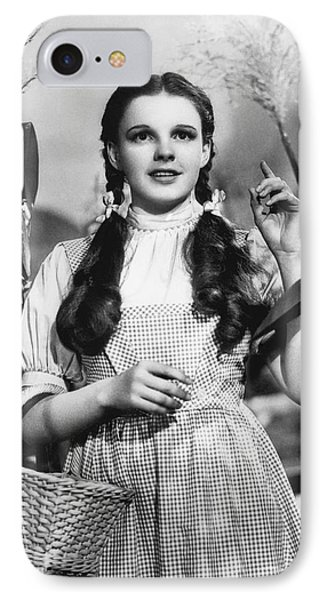 Judy Garland As Dorothy IPhone Case by Underwood Archives