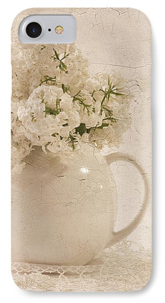 Jug Of White Lilacs IPhone Case