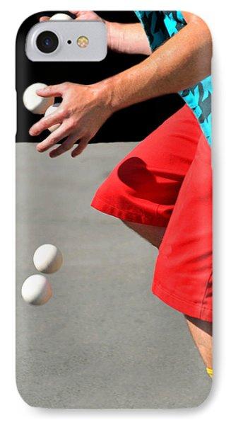 Juggler Phone Case by Diana Angstadt