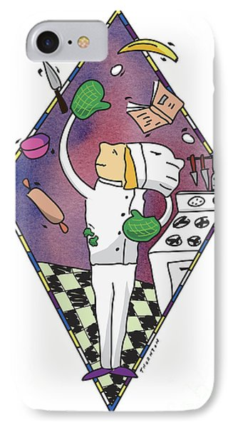 Juggling Chef IPhone Case