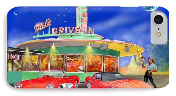 Julies Corvettes IPhone Case by Jack Pumphrey