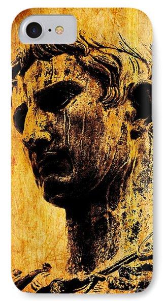 Julius Caesar  IPhone Case by Michael Grubb