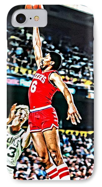 Julius Erving IPhone Case