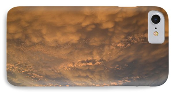 IPhone Case featuring the photograph July 19-2013 Sunset Sky  by Lyle Crump