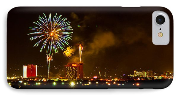 IPhone Case featuring the photograph July 4th Sparks Nevada by Janis Knight