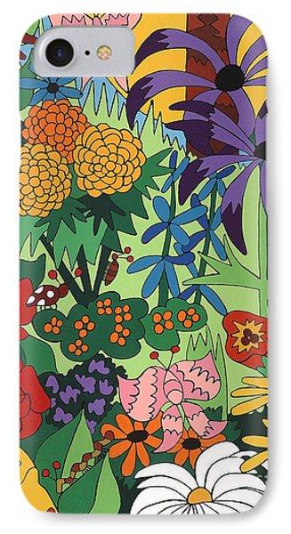 July Garden IPhone Case by Rojax Art