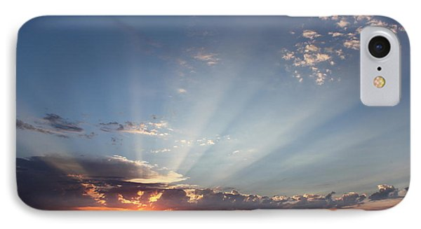 July Sky Show IPhone Case by Erica Hanel