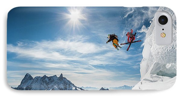 Jumping Legends IPhone Case