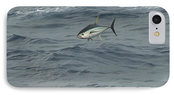 Jumping Yellowfin Tuna IPhone Case