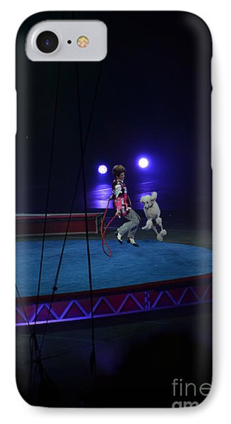 IPhone Case featuring the photograph Jumprope With Fido by Robert Meanor