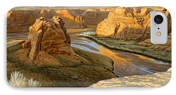 Junction Overlook - Canyon Dechelly Phone Case by Paul Krapf