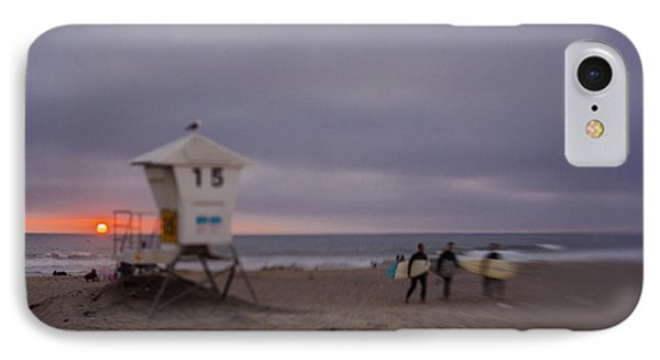 June Gloom At Mission Beach IPhone Case by Scott Campbell
