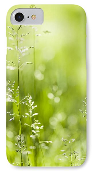 June Green Grass  Phone Case by Elena Elisseeva