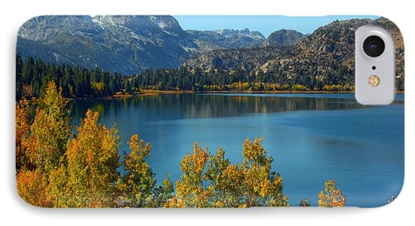 IPhone Case featuring the photograph June Lake Blues And Golds by Lynn Bauer