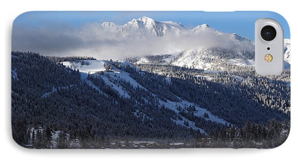 IPhone Case featuring the photograph June Lake Winter by Duncan Selby