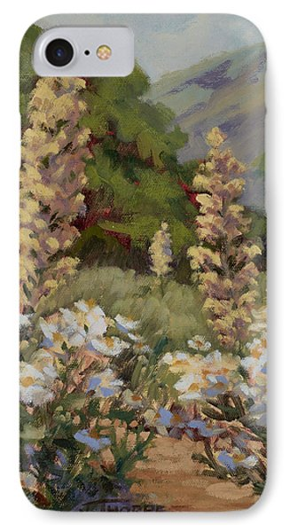 June Whites IPhone Case by Jane Thorpe