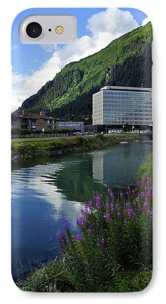 Juneau Federal Building Phone Case by Cathy Mahnke