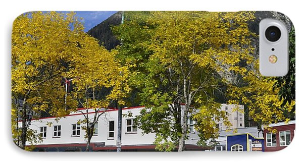 Juneau In The Fall Phone Case by Cathy Mahnke