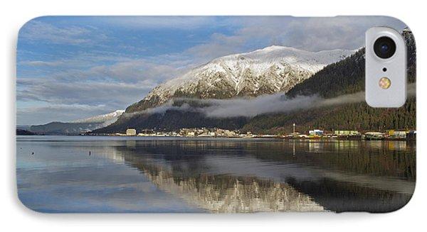 Juneau In Winter IPhone Case by Cathy Mahnke