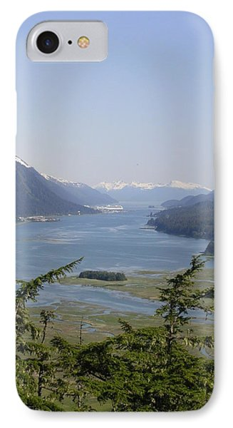Juneau's Scenic Port IPhone Case by Cindy Croal