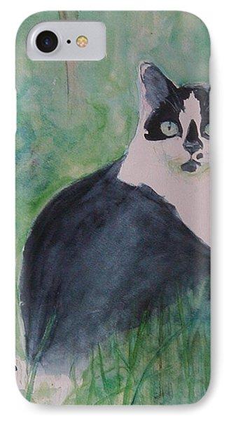 Jungle Cat IPhone Case by Eva Marie Tanner-Klaas