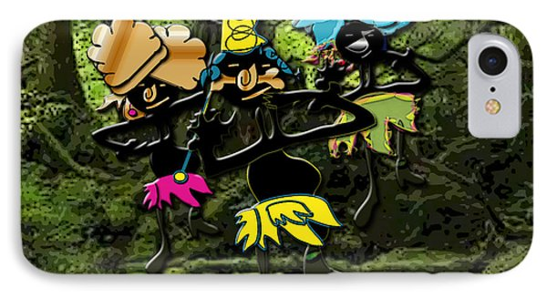Jungle Dancers IPhone Case