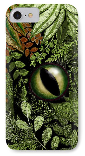 Jungle Eye IPhone Case by Carol Jacobs