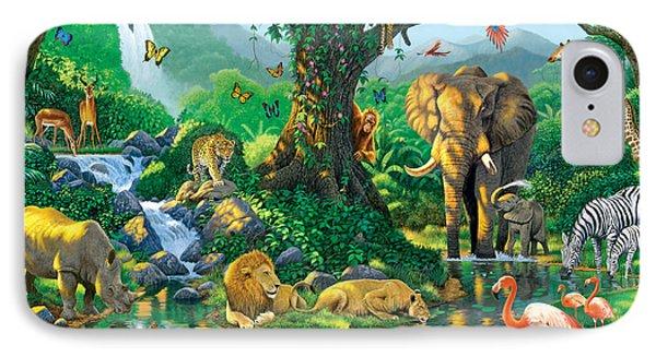 Jungle Harmony IPhone 7 Case