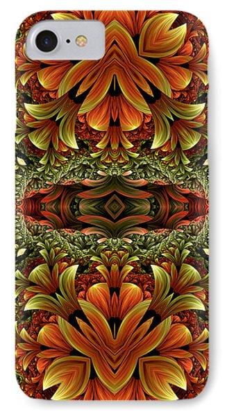 IPhone Case featuring the digital art Jungle Love by Lea Wiggins