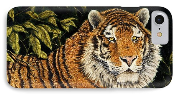 Jungle Monarch Phone Case by Rick Bainbridge