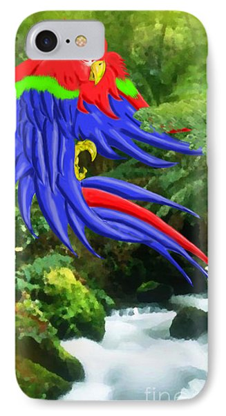 Jungle Quaker Phone Case by John Kreiter