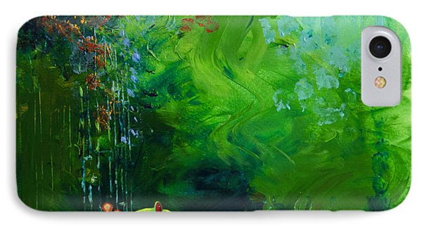 Jungle Rains I Phone Case by Tracy L Teeter