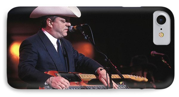 Junior Brown Phone Case by Concert Photos