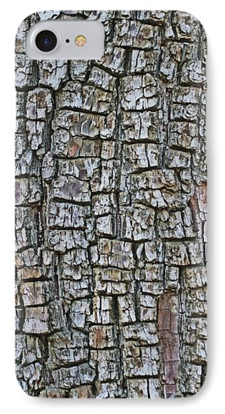 Juniper Bark- Texture Collection IPhone Case by Tom Janca