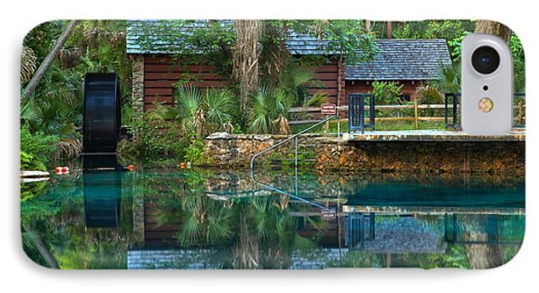 Juniper Springs Mill House IPhone Case