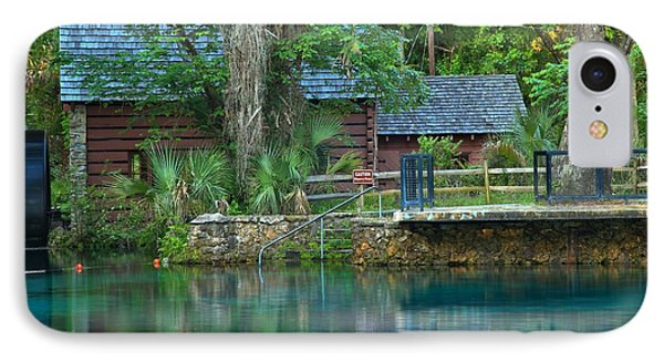 Juniper Springs Mill House Reflections IPhone Case