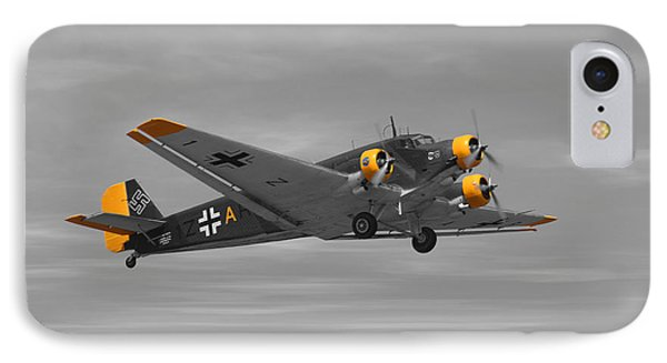 Junkers Ju 52 Phone Case by Tommy Anderson