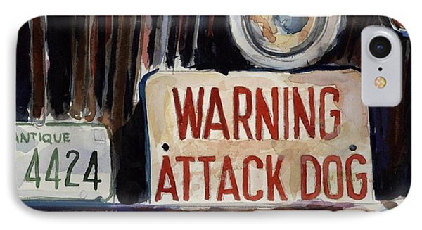 Junkyard Dog Phone Case by Molly Poole