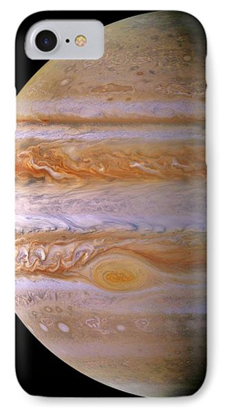 Jupiter And The Spot IPhone Case by Benjamin Yeager