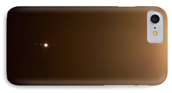 Jupiter In The Glow Of The Moon IPhone Case