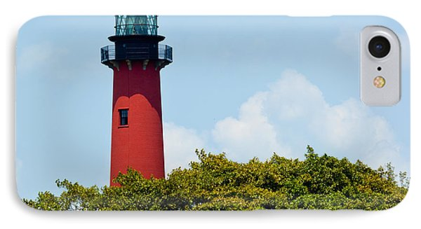 Jupiter Inlet Lighthouse IPhone Case by Michelle Wiarda