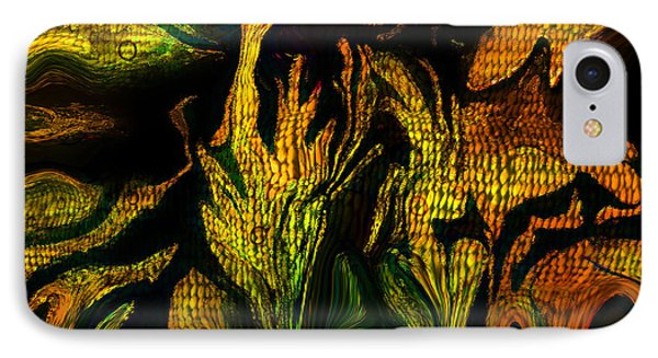 IPhone Case featuring the painting Jupiters Garden by Sherri  Of Palm Springs