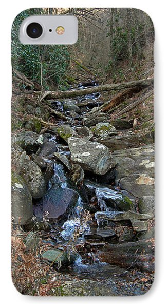 Just A Creek Phone Case by Skip Willits