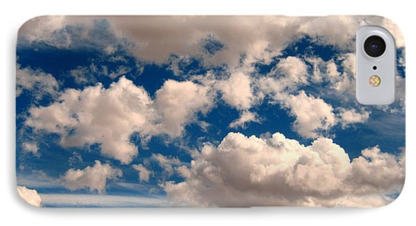IPhone Case featuring the photograph Just A Face In The Clouds by Janice Westerberg