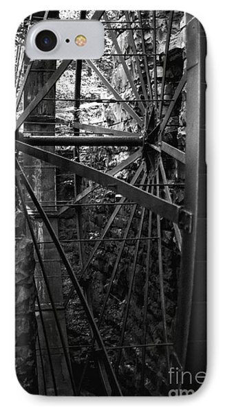 Just A Few Spokes Phone Case by Wayne Stacy